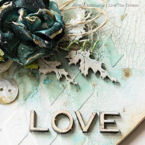 Calico Craft Parts: Wedding Heart Gift by Jennie