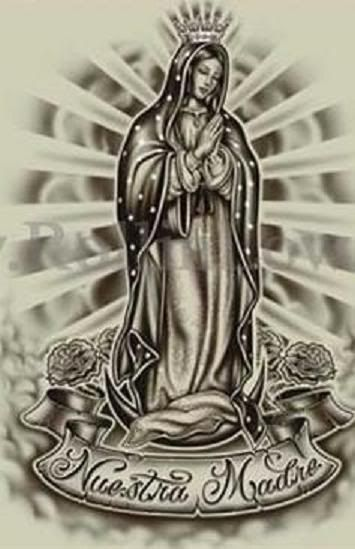 Pin by a on virgin mary | Mary tattoo, Tattoos, Virgen ...