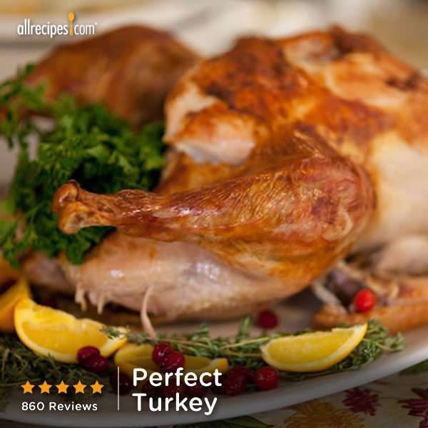 """Hands down the best turkey ever."""" —krisfriz   Repin for your feast. (Perfect #Turkey) http://allrecipes.com/video/884/perfect-turkey/detail.aspx?lnkid=7171"""