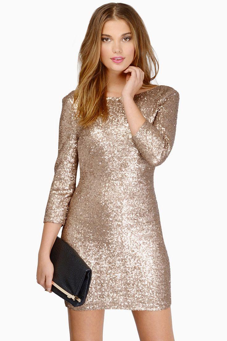 Sparkler Sequin Dress in Navy   Dresses, Sequin dress, New years dress