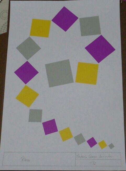 RITMO: Repeticion de elementos, juega un papel principal con los patrones