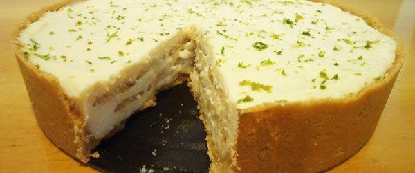 Foto - Receita de Torta pavê de limão Divina!