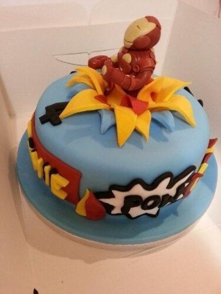 7 best Ironman cake images on Pinterest Ironman cake Birthday