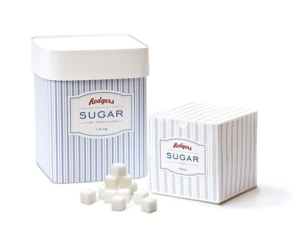 _5 Rodgers Sugar Packaging by Jenny Kim, via Behance