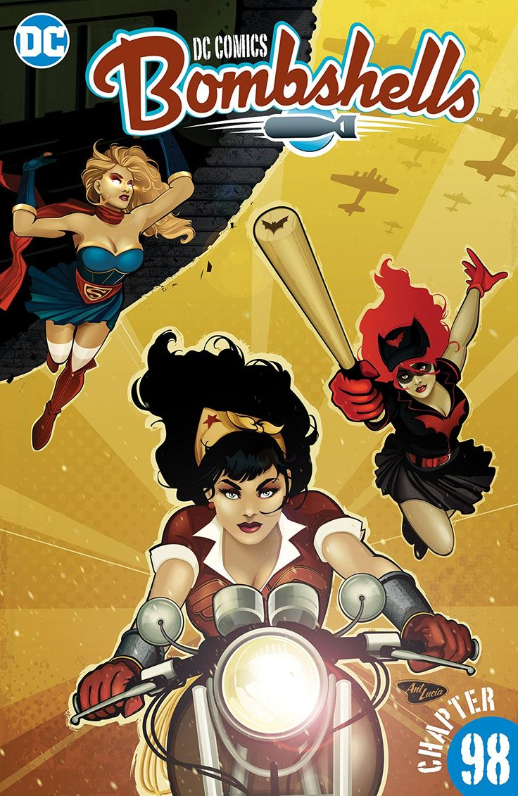 Download Free DC Comics: Bombshells #98 (2017)