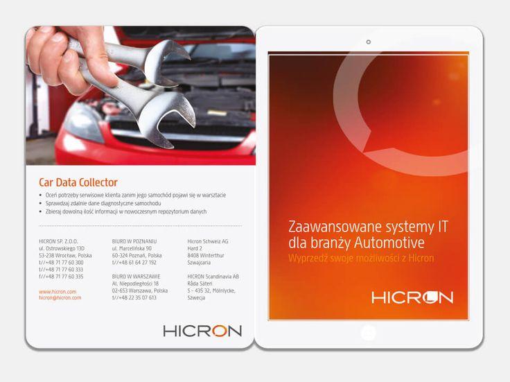 Folder dla rozwiązań mobilnych. #reklama #marketing #folder