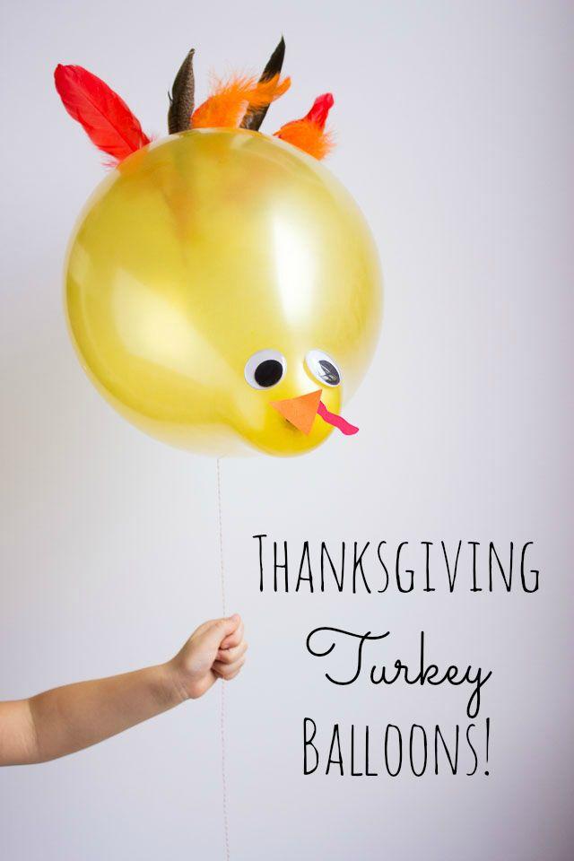 Thanksgiving Turkey Balloons