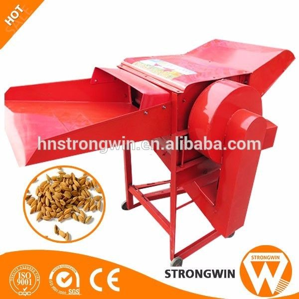 Henan Strongwin homemade small multi rice crop wheat thresher machine for wheat