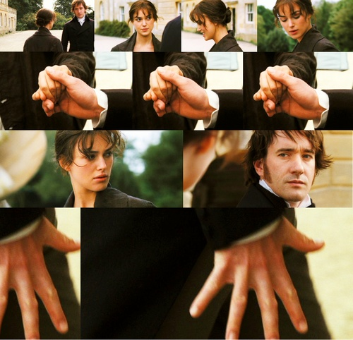 Pride & Prejudice (2005) - starring Keira Knightley as Elizabeth (Lizzie) Bennet and Matthew MacFayden as Mr. Darcy