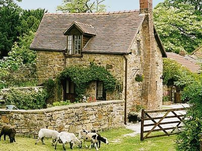Beautiful! --Harvest Cottage  Pen-y-Cae, nr. Ruabon, Clwyd, North Wales.