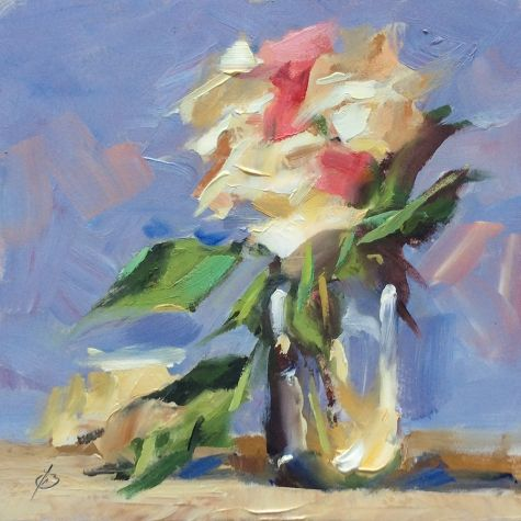 FLORAL STILL LIFE by TOM BROWN -- Tom Brown