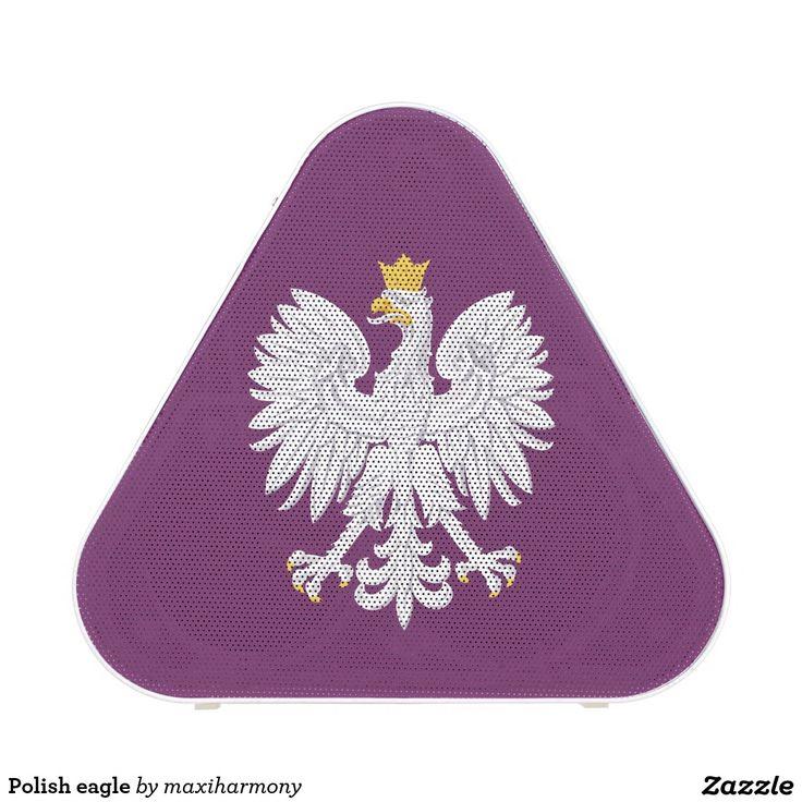 Polish eagle speaker