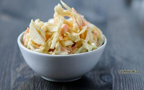 Recept na skvělý salát Coleslaw