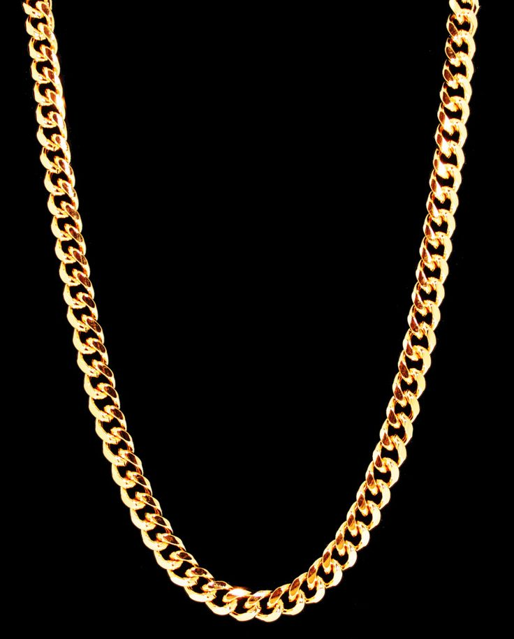 how to wear a gold chain