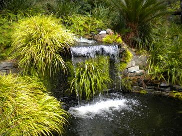 39 best images about new japanese waterfall garden on for Japanese pond ornaments
