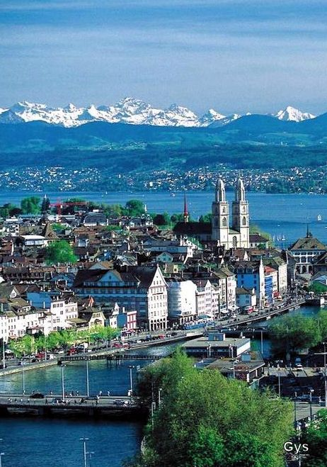 Zurich, Switzerland. Was so nice to be back. Good friends are hard to come by…