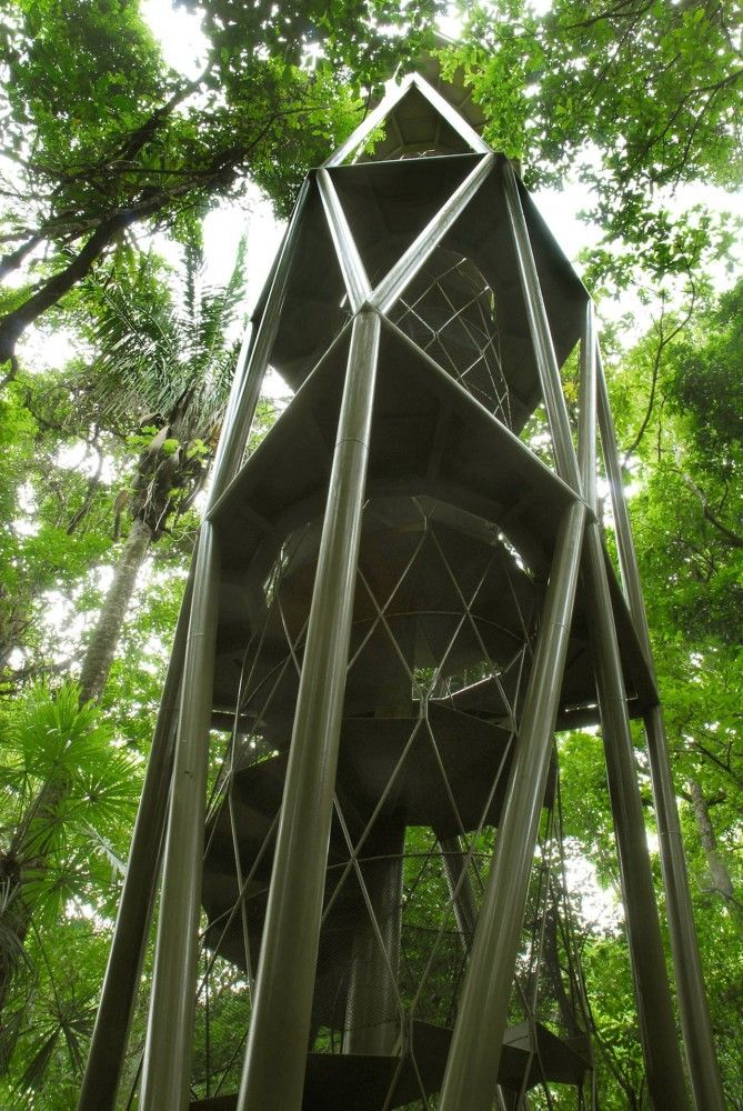 Love this architecture! Panama Rainforest Discovery Center   ENSITU