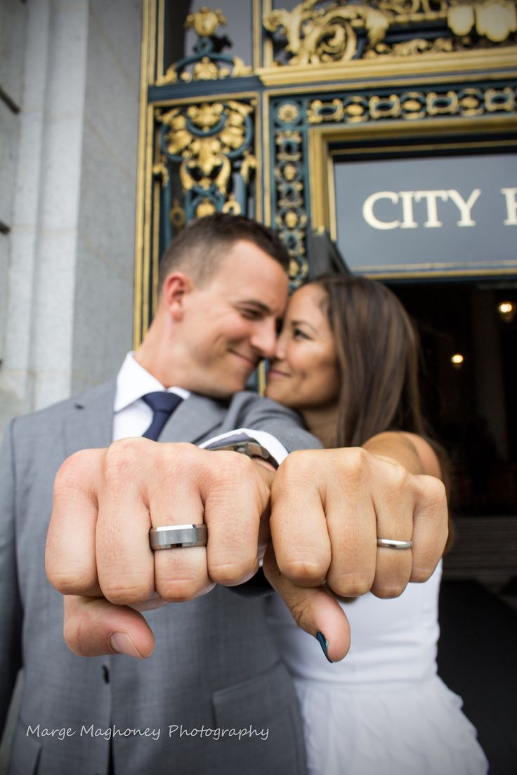 Gorgeous San Francisco City Hall Wedding Photography @ Marge Maghoney Photography via www.margemaghoneyphotography.com