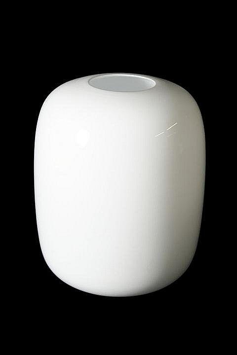 Timo Sarpaneva (Finland, 1926-2006) Jurmo, White vase, Glass,