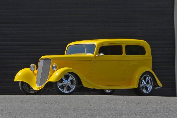 1933 FORD CUSTOM 2 DOOR COUP - Barrett-Jackson Auction Company - World's Greatest Collector Car Auctions