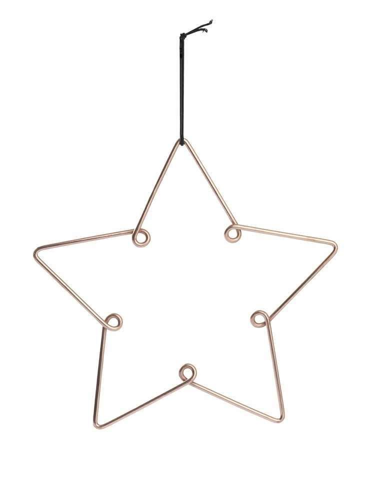 Norsu - Louise Roe Christmas copper tree star ornament (large), $20.00 (http://www.norsu.com.au/louise-roe-christmas-copper-tree-star-ornament-large/)