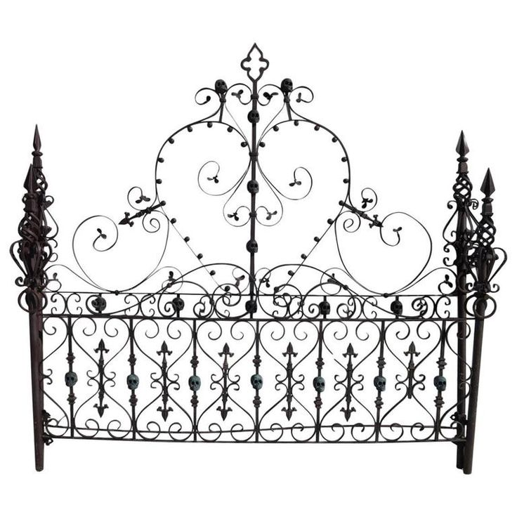 Custom Made Gothic Iron Bed with Bronze Skulls  Modern Bedroom FurnitureModern. 25  best ideas about Unique Bedroom Furniture on Pinterest   West