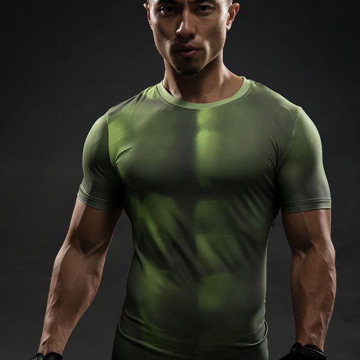 Goedkope HULK 3D T shirts Avengers Compressie Shirt Mannen Zomer Korte mouw Fitness Crossfit Mannelijke Kleding Bodybuilding Strakke Tops, koop Kwaliteit T- shirts rechtstreeks van Leveranciers van China: Naam Product: Superhero 3D Superman Avengers: leeftijd van THOR Compressie T-shirts Mannen Sneldrogende Sport Fitness C