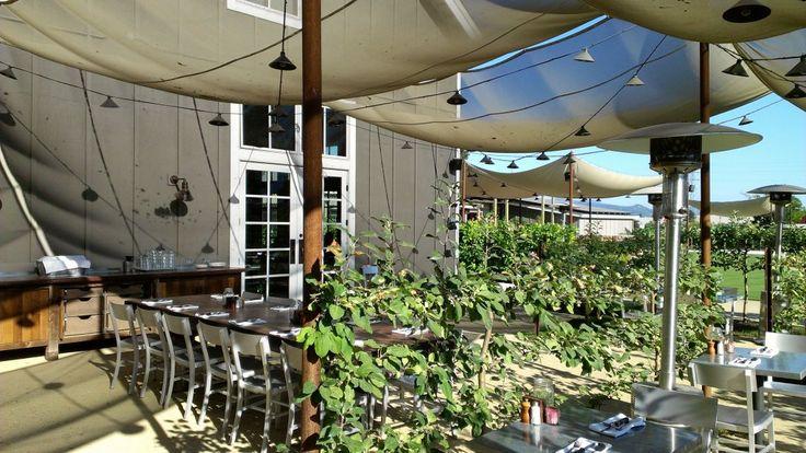 Exterior Dining Area-Farmstead Restaurant St. Helena, CA