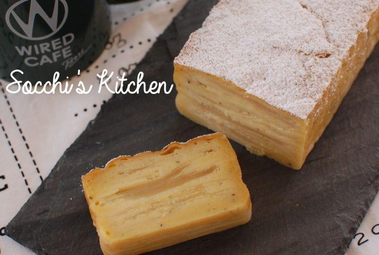 フランスで新スイーツ誕生で話題❤️『ガトーインビシブル』簡単レシピ~|栄養士ママそっち~のブログ
