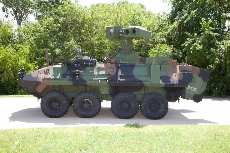 New U.S. Marine Corps Light Armored Vehicle Anti-Tank (LAV-AT) weapon system from RAYTHEON COMPANY