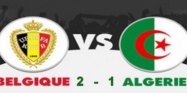 coupe du monde 2014 Algérie 1- 2 Belgique