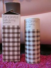 RARE GINGHAM INNOXA PERFUMED BATH DUSTING TALC TALCUM POWDER 180G BOXED