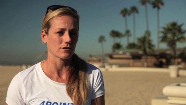 Olympic Silver Medalist Jen Kessy talks about the hard work it takes to be a professional beach volleyball player.