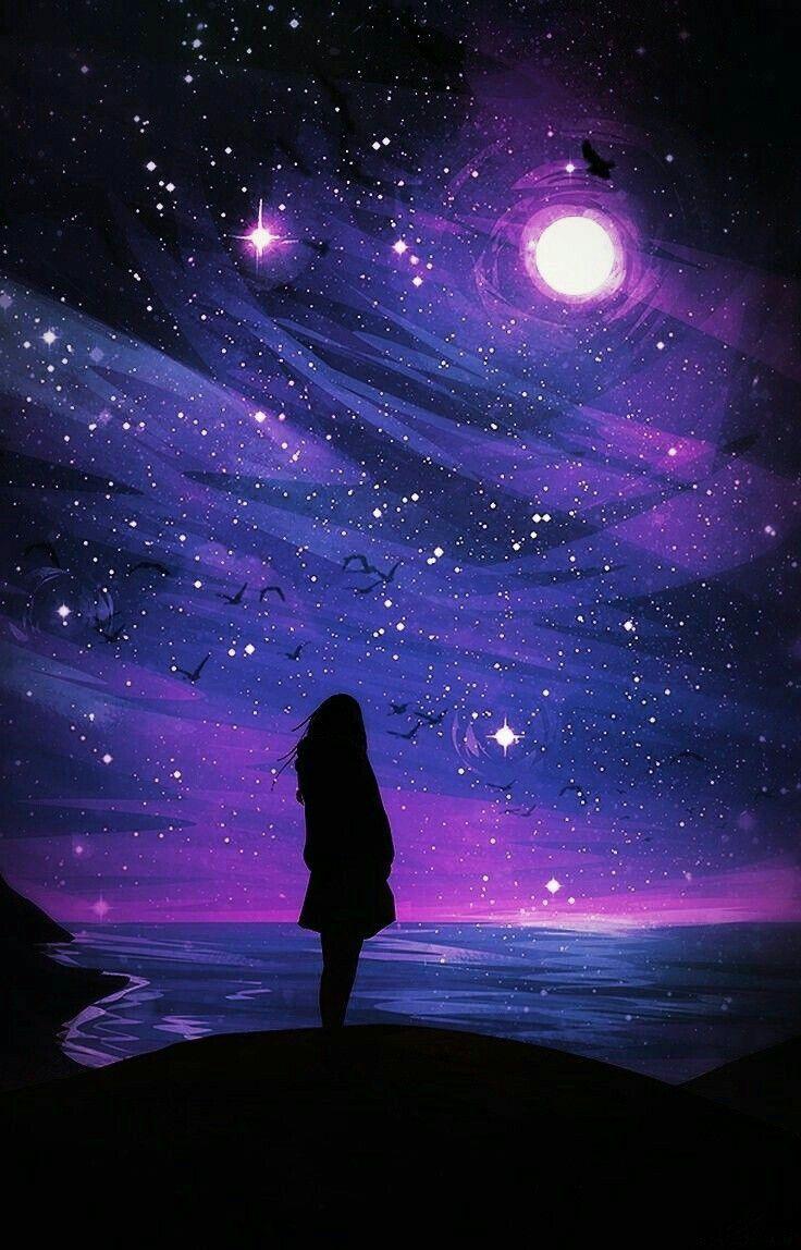 Pin By صورة و كلمة On صور أعجبتني صور للتصميم Background Wonderful Pictures Galaxy Painting Galaxy Wallpaper Anime Scenery