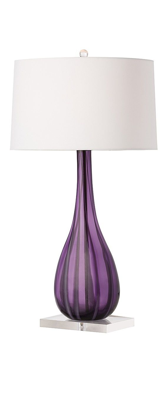 Bedside table lamps purple -  Purple Lamps Modern Purple Lamps Contemporary Purple Lamps Purple