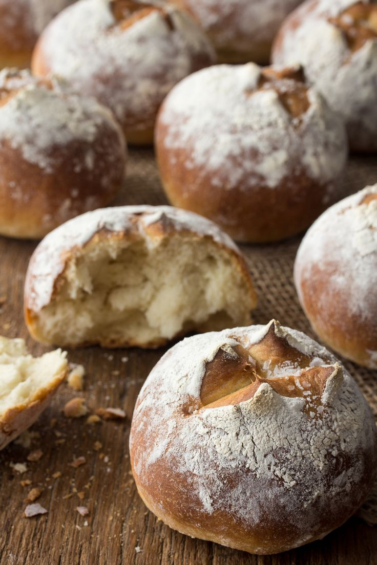 Crusty French Bread Rolls–Classic dinner rolls are the Little Black Dress of the bread world. They never go out of style.