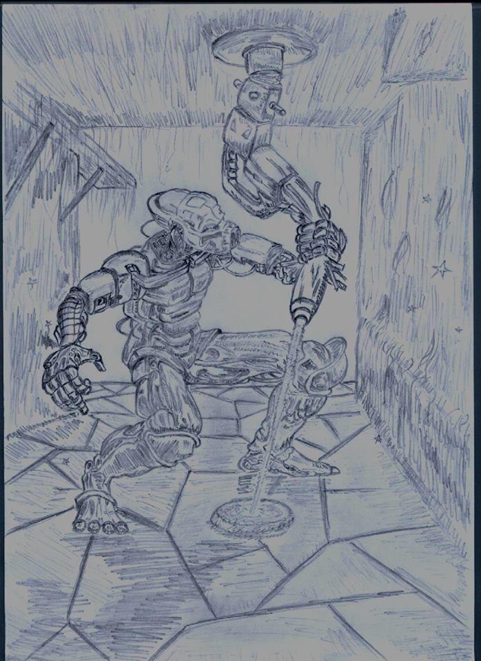 2002 Калибан (иллюстрация из книги)