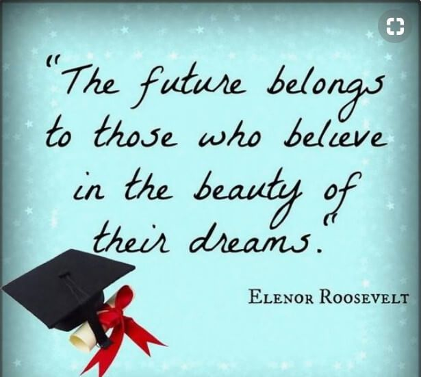 Short Inspirational Quotes For Graduates From Parents With Images