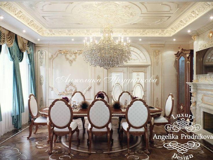 Дизайн дома в классическом стиле в КП «Согласие» - фото
