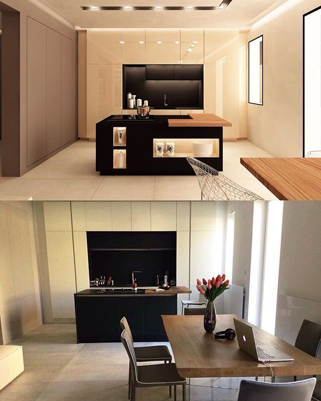 From rendering to reality. Finishing our #interior project in Bologna, Italy.  #interiordesign #apartment #design #emporioorenga #bologna #italy #interni #дизайн #интерьер
