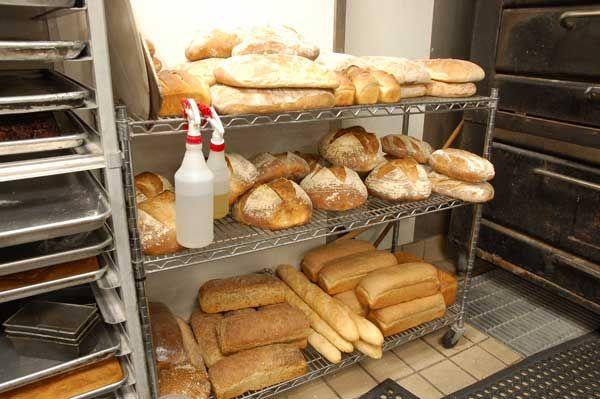 House-made bread at Houston restaurant Canopy