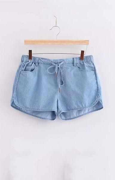 Denim Style Shorts – Trendy Road