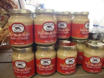 #Maple butter on fresh baked bread - nothing beats it. Head to Acadian Maple in Tantallon, #NovaScotia year round for #maple treats and souvenirs. Blog post by Destination Halifax blogger @Kim Humes.