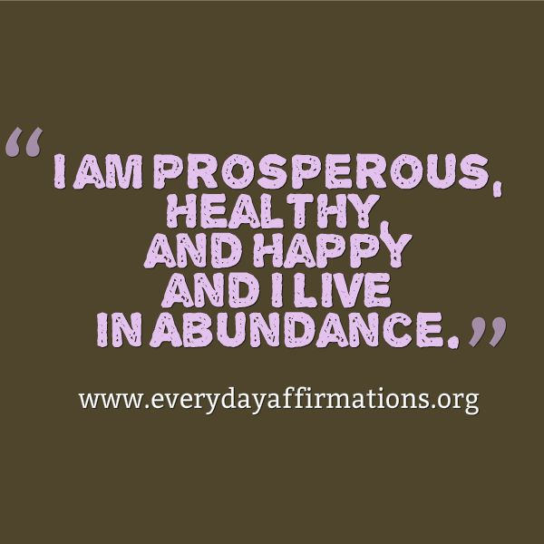 Everyday Affirmations for Daily Positivity: Daily Affirmations - 8 February 2014