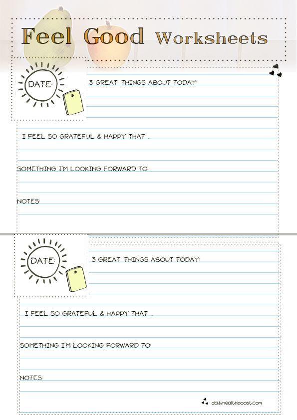 practice self love feel goods printable worksheets