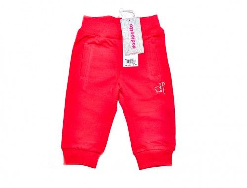 Dodipetto – Παντελόνι Για Μωρά Κορίτσια      Χειμωνιάτικο παντελόνι για μωρά κορίτσια.     Χρώμα: Κόκκινο.     Σύνθεση: 93% Βαμβάκι, 7% Ελαστίνη.     Μάρκα: DODIPETTO     Προέλευση: ΙΤΑΛΙΑ