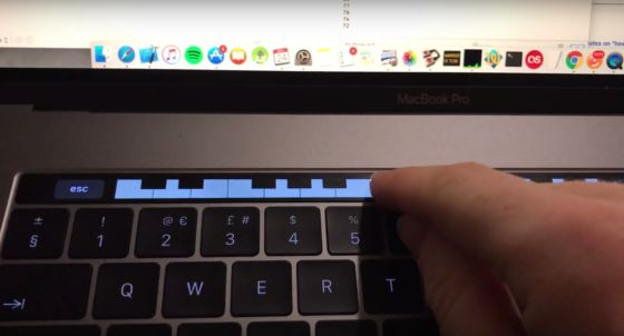 Developer Creates Tiny Piano App for the New MacBook Pro?s Touch Bar - blogs de iphone ipad mac android https://link.crwd.fr/4PUQ