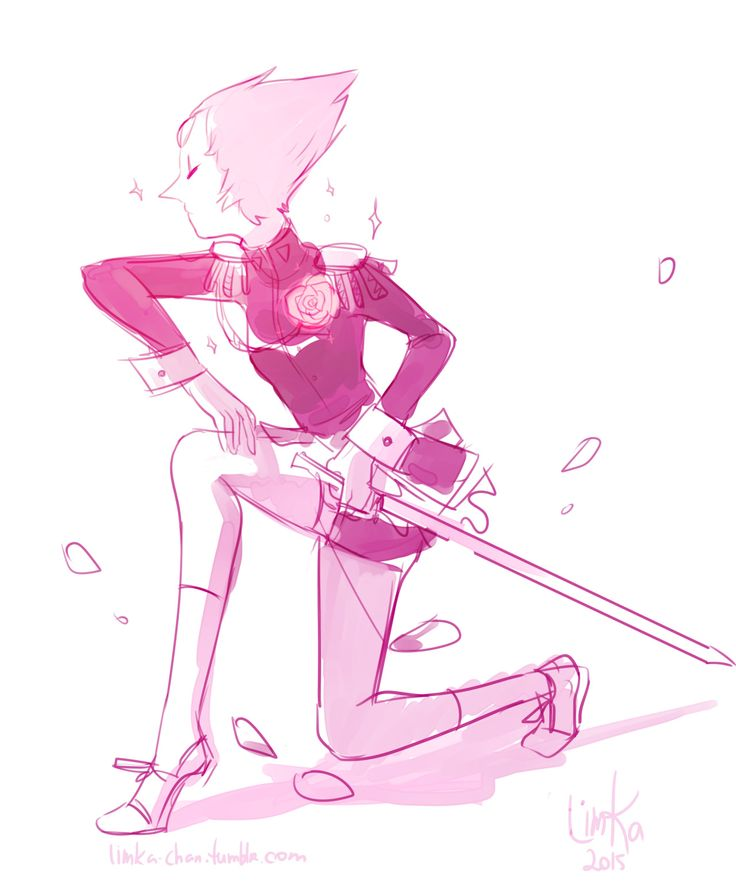 Beach City Bugle: Drawing Things Out #241  All these Utena fan arts of Pearl makes me feel bad that i haven't seen the show ; A ;