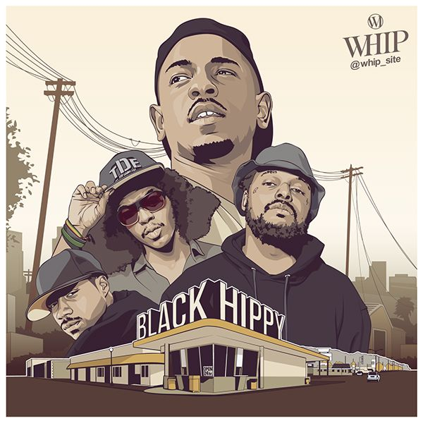 BLACK HIPPY - TDE on Behance