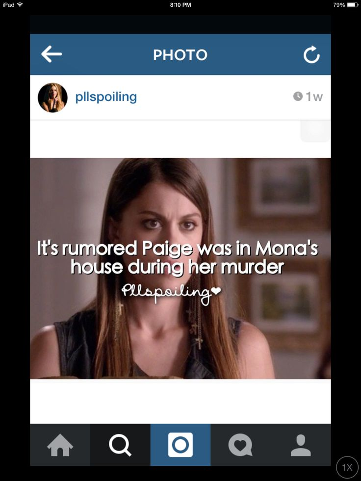 Pretty Little Liars spoilers i feel this one could be true, Paige seems dodgy